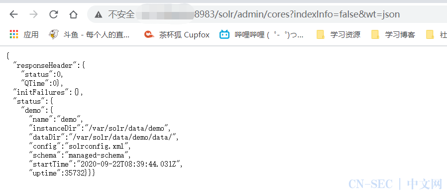 Apache Solr 漏洞复现
