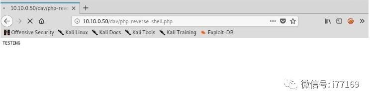 在服务器上利用WebDAV并获取Shell