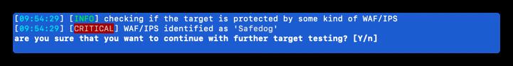 原创 | 安全狗绕waf、编写sqlmap tamper脚本