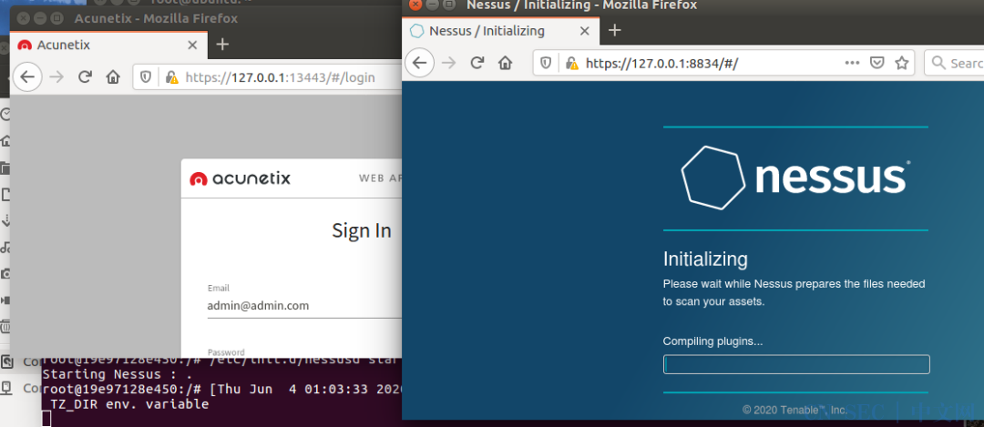 漏洞扫描—Awvs&Nessus(Docker版V3.0)更新