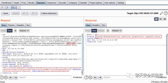Apache Struts2--057远程代码执行漏洞复现