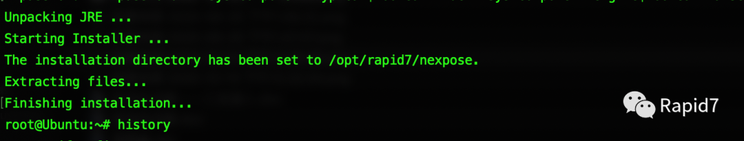 Nexpose(InsightVM)的一键安装方法