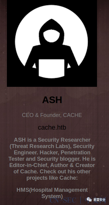 HackTheBox-Cache-Walkthrough