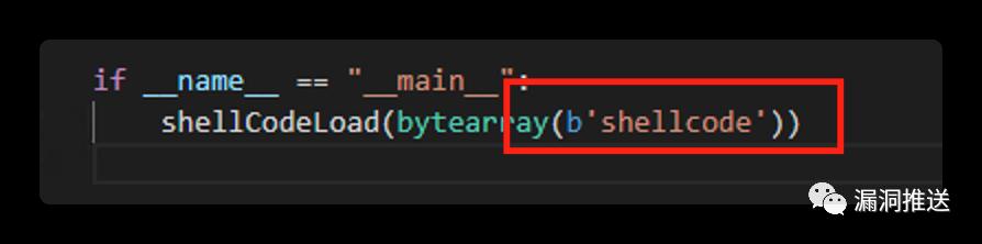 python3 shellcode 使用eval函数 bypass AV