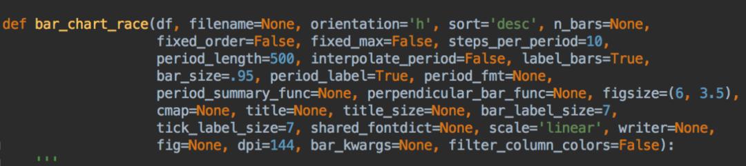 刷爆全网的动态条形图,原来5行Python代码就能实现!