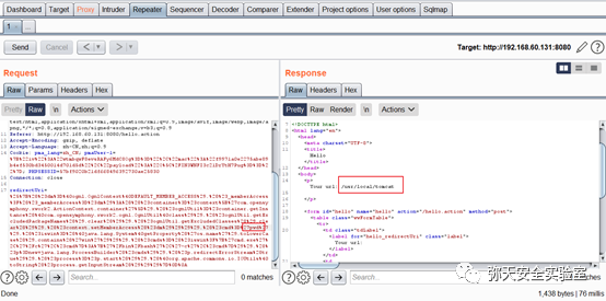 Apache Struts2--053远程代码执行漏洞复现