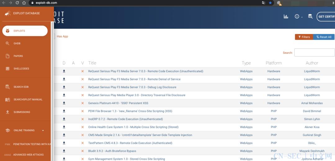 国外的一些漏洞学习平台+hackoen公开漏洞报告下载