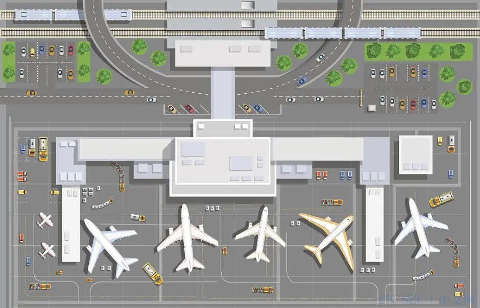 智慧机场和航空系统的物联网安全