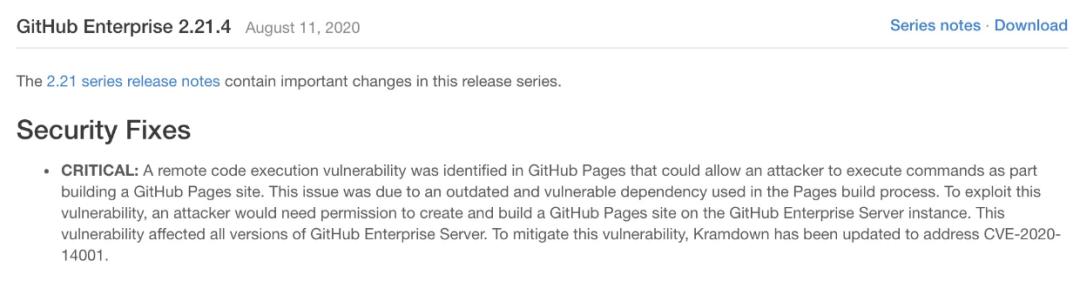 赏金000的GitHub漏洞:通过 GitHub Pages 不安全的Kramdown配置实现多个RCE