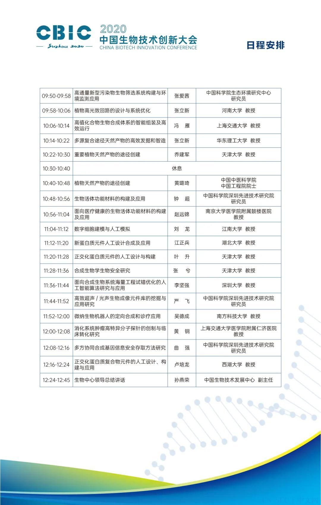 CNCERT何跃鹰将在2020中国生物创新技术大会上作《2020中国网络生物安全发展报告》