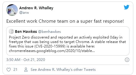 Microsoft cng.sys权限提升漏洞(CVE-2020-17087)被在野0day利用通告