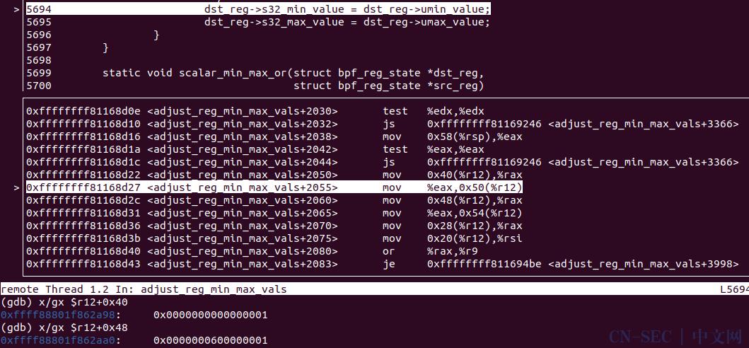 CVE-2020-27194:Linux Kernel eBPF模块提权漏洞的分析与利用