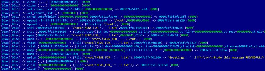 RansomEXX木马出现Linux变种
