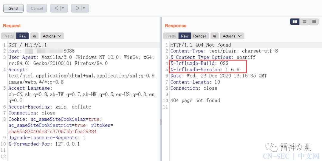 InfluxDB API 未授权访问漏洞简单利用