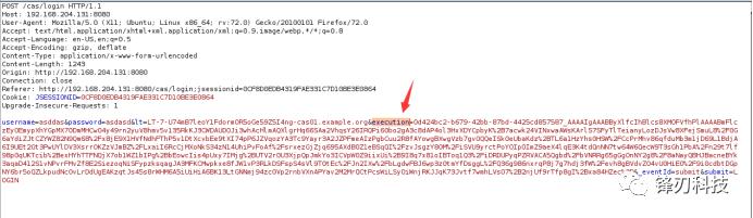 Apereo CAS 4.1 反序列化命令执行漏洞复现
