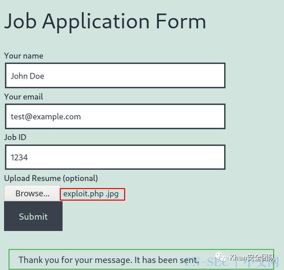 CVE-2020-35489 WP插件Contact Form 7任意文件上传