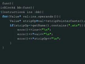 使用ollvm自定义简单的字符串加密
