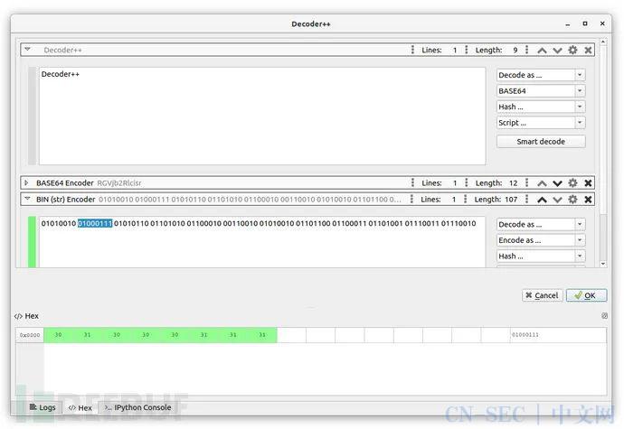 Decoder++:一款专用于渗透的多数据格式编码解码工具