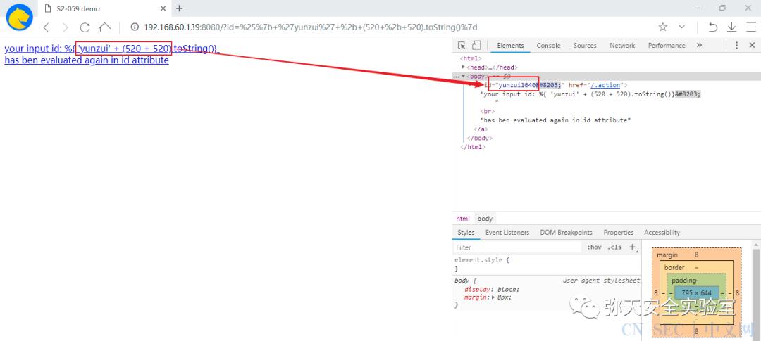 Apache Struts2--061远程代码执行漏洞复现