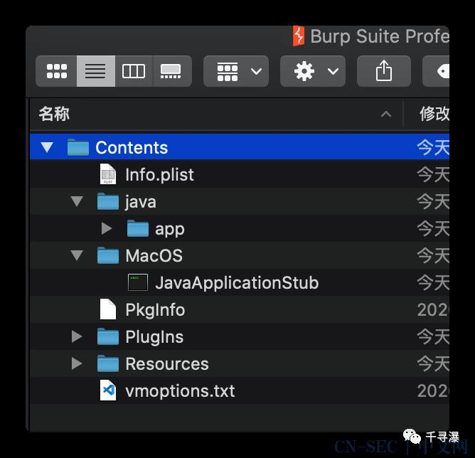 Mac上Burpsuite APP制作
