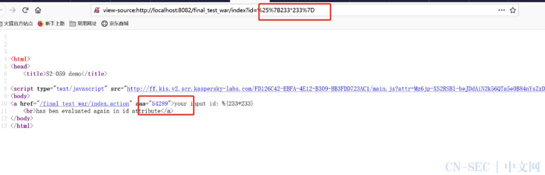 关于Apache Struts远程代码执行漏洞(S2-061、CVE-2020-17530)的说明