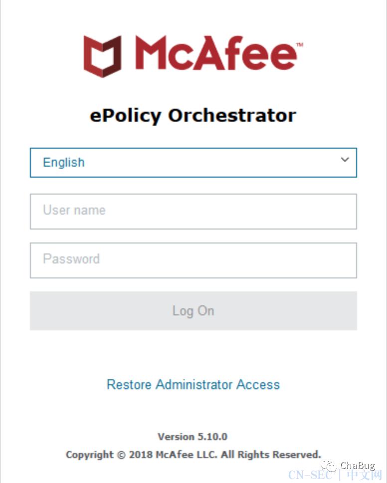 [翻译]McAfee ePolicy Orchestrator中的漏洞