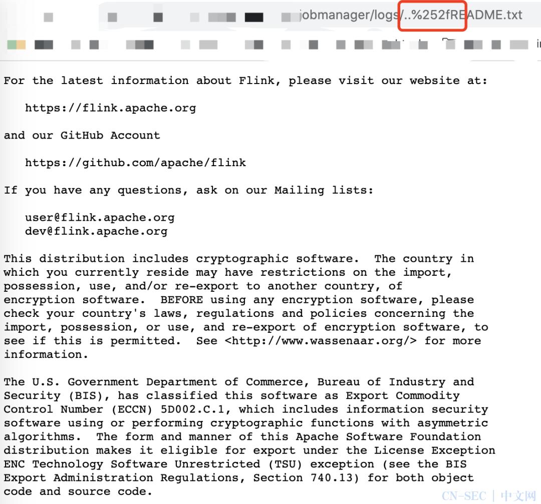 Apache Flink目录遍历漏洞风险通告,腾讯安全全面检测