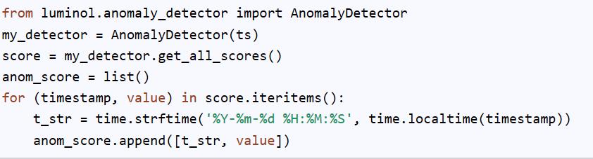 异常检测以及开源工具简介