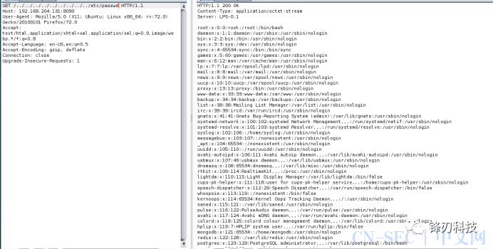 Lanproxy 任意文件读取漏洞 (CVE-2021-3019)复现