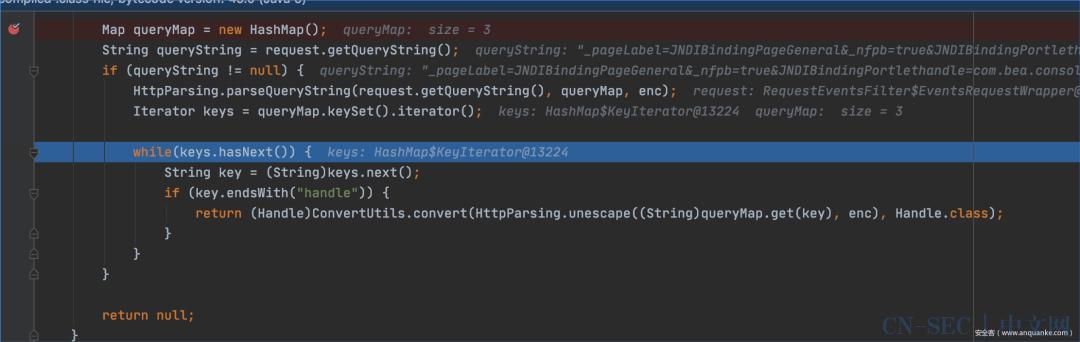 Weblogic Server远程代码执行漏洞(CVE-2021-2109)调试分析