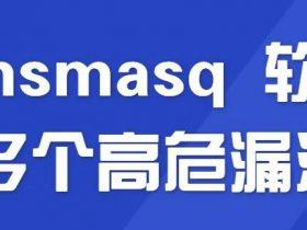 Dnsmasq 软件多个高危漏洞
