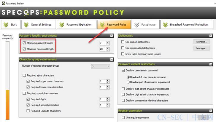 如何使用密码长度设置最佳密码过期策略