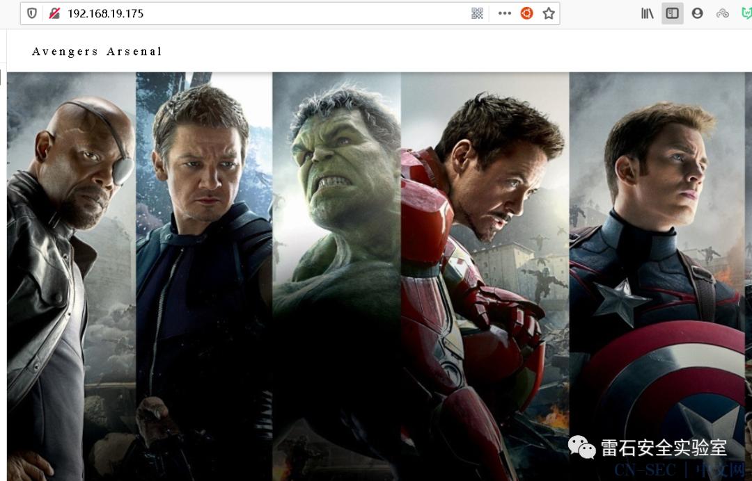 HA-Avengers靶机渗透
