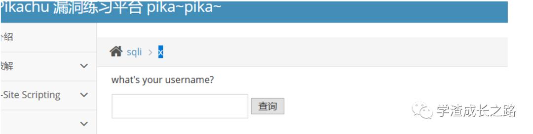 小白入门靶机-Pikachu之SQL注入