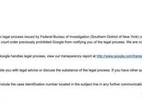 美国政府要求获取微软客户数据部分细节披露