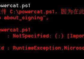 PowerCat脚本使用