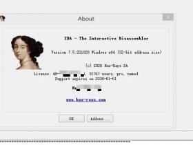 【Disassemblers】IDA Pro 7.5 绿色版