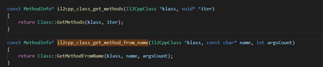 内存解析Il2cpp函数地址