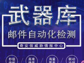 ALPHA威胁分析平台-武器库【邮件自动化检测】全新上线!