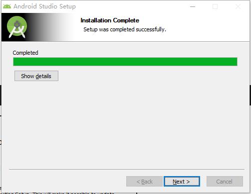 Android Studio安装记录