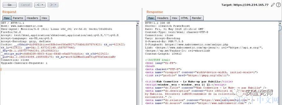 利用源服务器IP地址绕过Cloudflare WAF