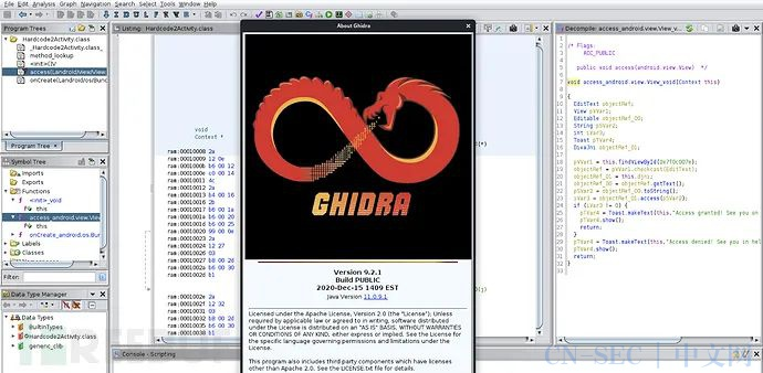 手把手教你使用Ghidra逆向移动应用程序