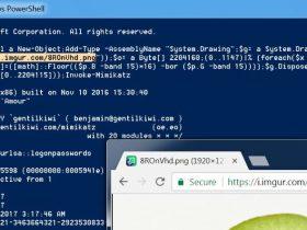 将PowerShell脚本编码到PNG文件