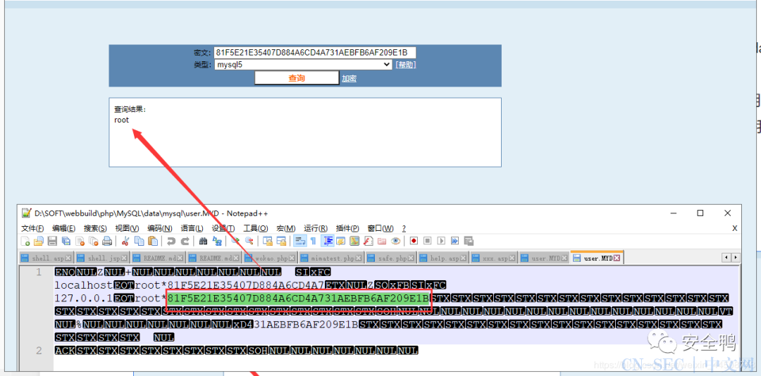 Windows系统提权之数据库提权