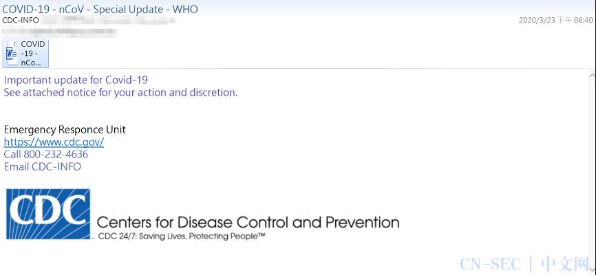 2020邮件安全趋势总结:钓鱼攻击最猖獗 疫情主题被滥用